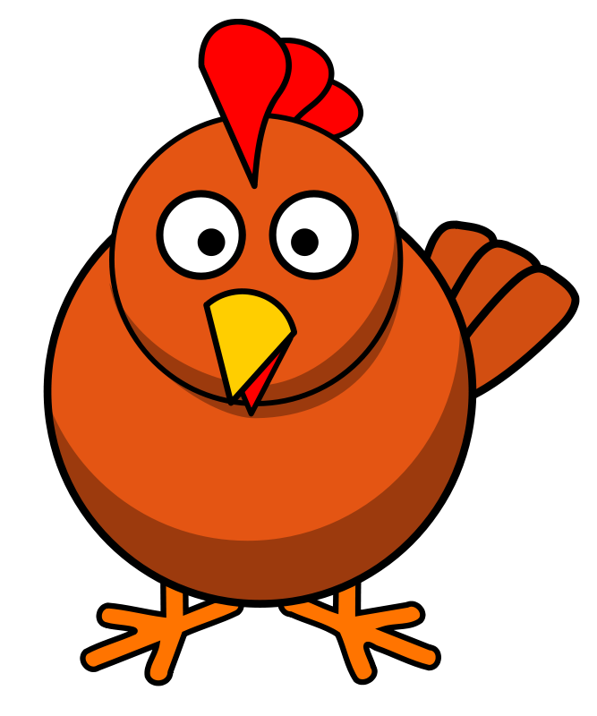 free clipart chicken roundcartoon bloodsong rh 1001freedownloads com clipart of chicken coop clipart of chicken black and white