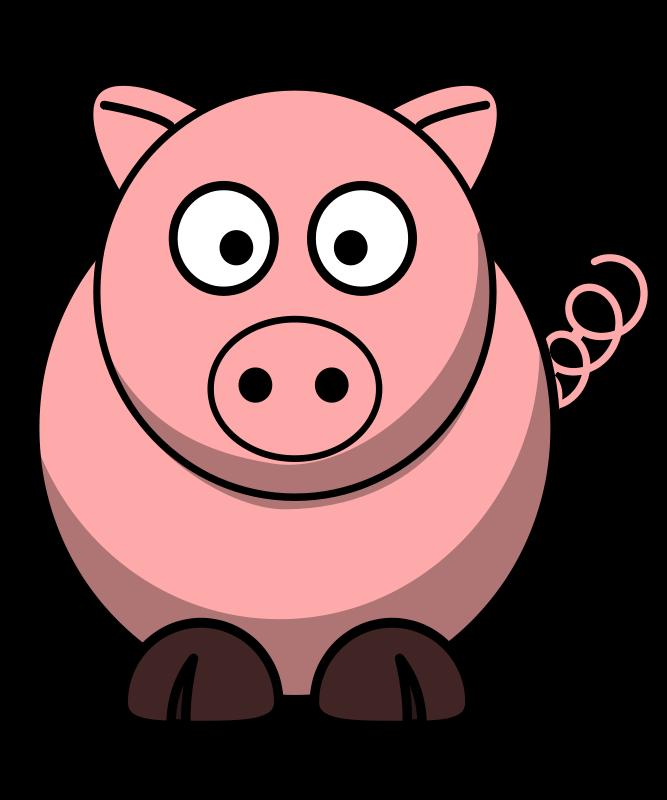 Free Pig-RoundCartoon