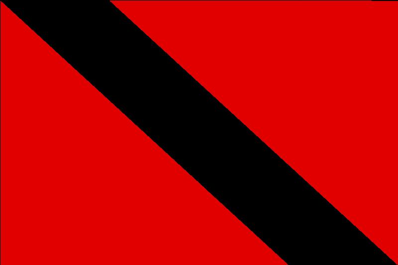 Free flag of Trinidad and Tobago