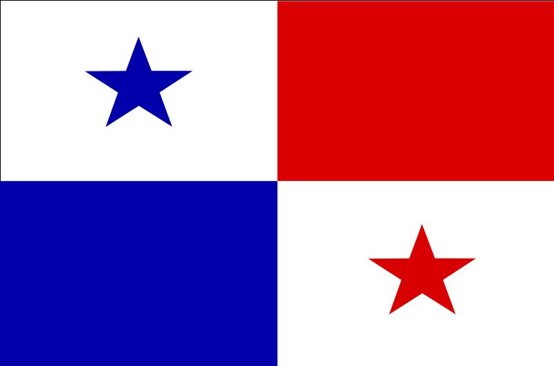 Free flag of Panama