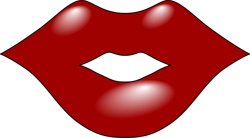 Free Clipart: Red Lips | Anonymous