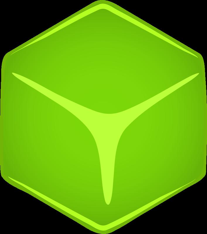 Free Architetto -- Cubo verde