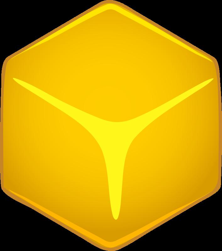 Free Architetto -- cubo giallo