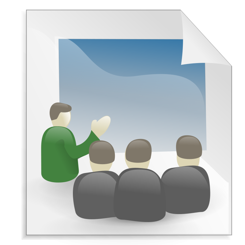 Free Clipart: Presentation | Anonymous
