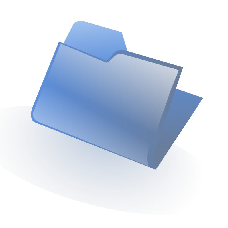 Free Clipart: Closed Folder | Anonymous