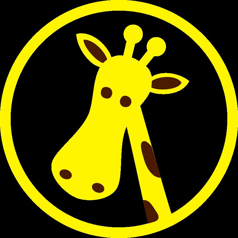 Free giraffe head