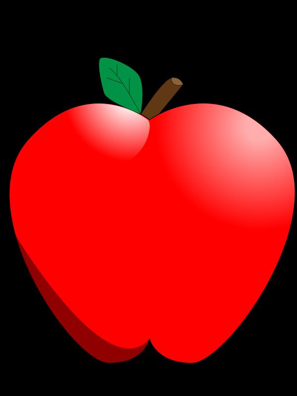 Free Cartoon Apple