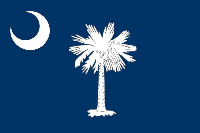 Free Flag of South Carolina
