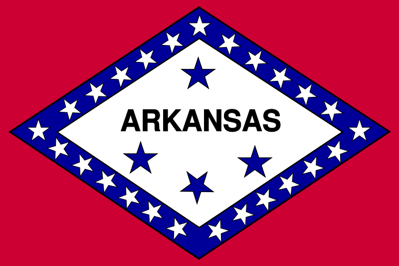 Free Flag of Arkansas