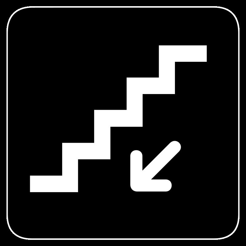Free aiga stairs down bg