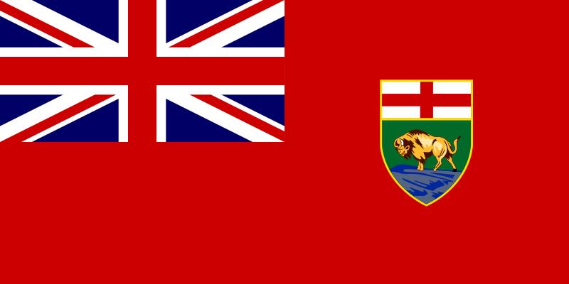 Free Flag of Manitoba, Canada