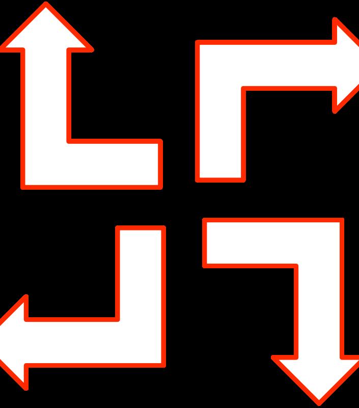 Free L-shaped arrow set 1