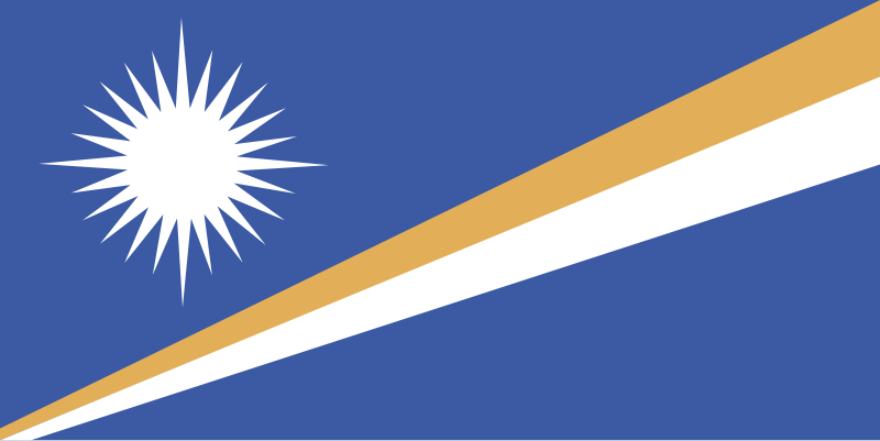 Free Flag of the Marshall Islands