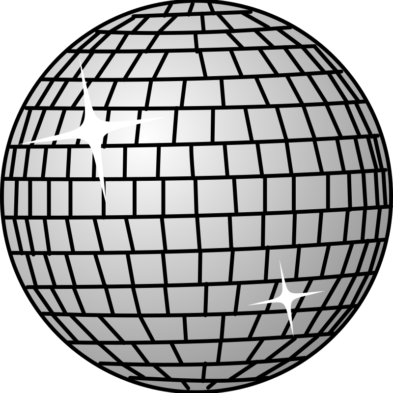 Free Clipart: Disco ball | Anonymous