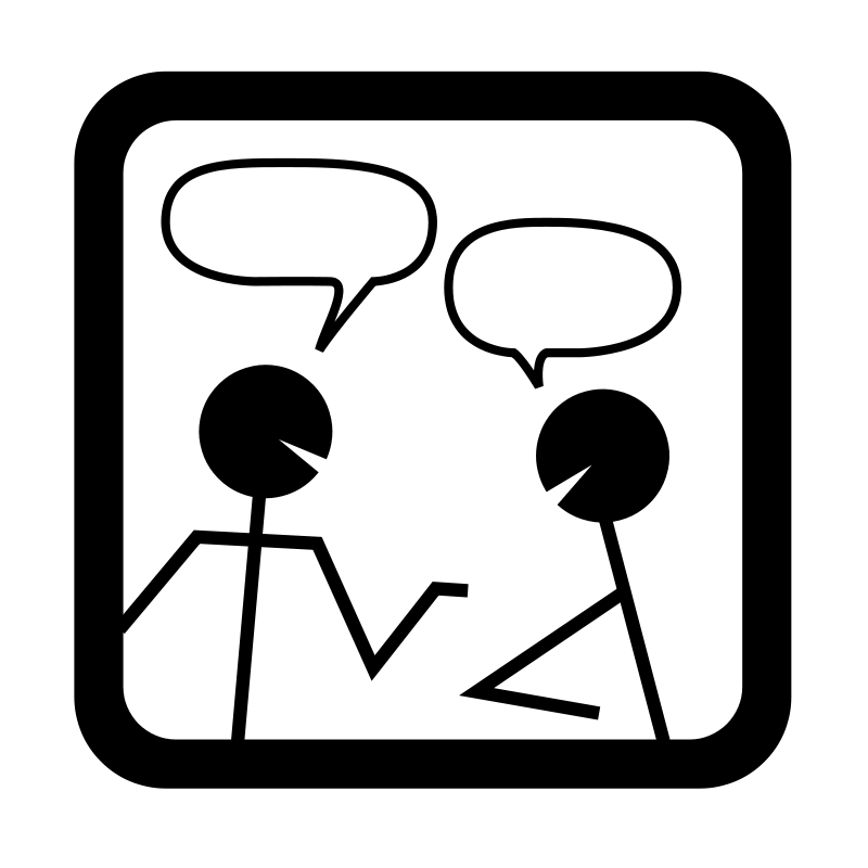 Free Clipart: Chat icon | Anonymous