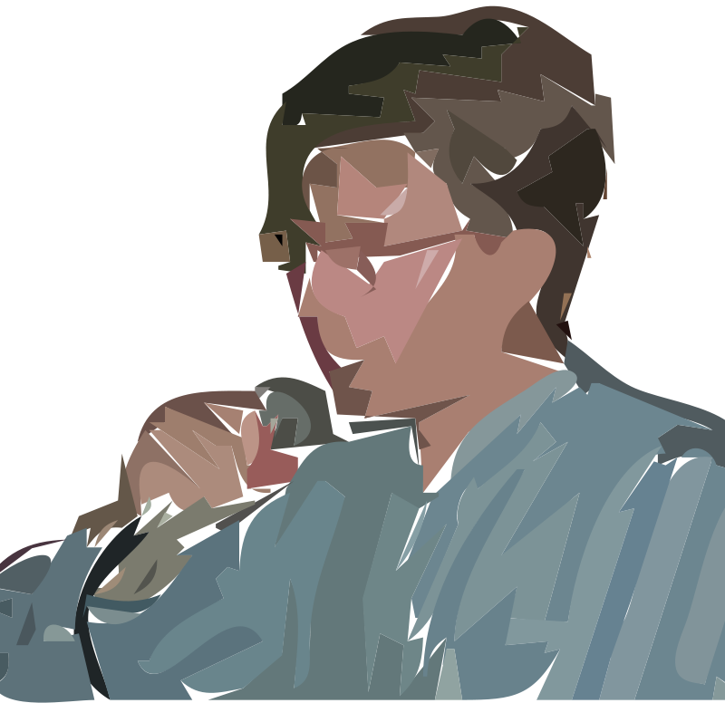 Free Clipart: A man singing | Anonymous