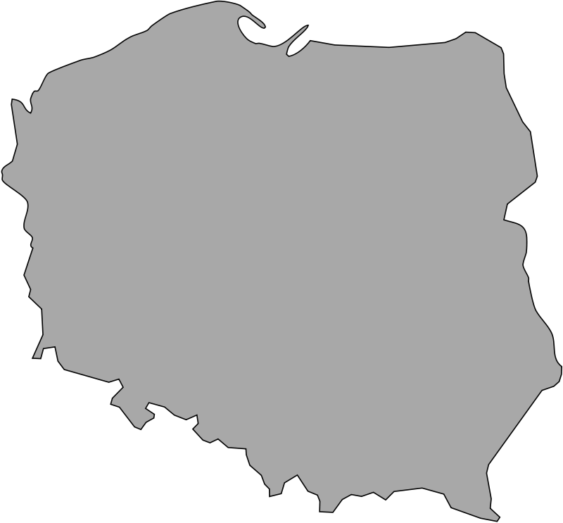 Free Map of Poland