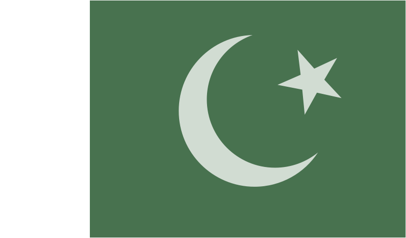 Free Flag of Pakistan