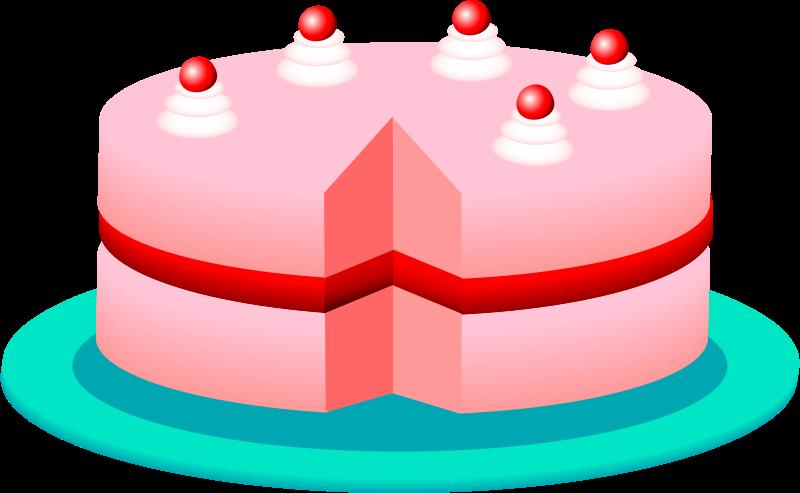 Free Pink cake