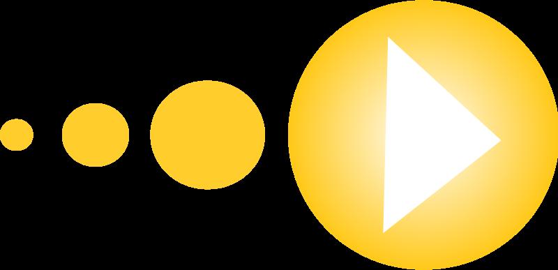 Free Yellow arrow set