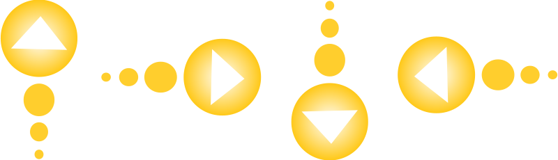 Free Clipart: Yellow arrow set | Anonymous