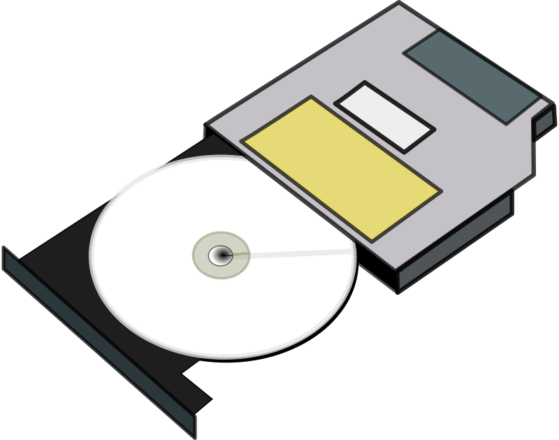 free clipart slim cd drive anonymous rh 1001freedownloads com clipart cd-rom clip art cd player