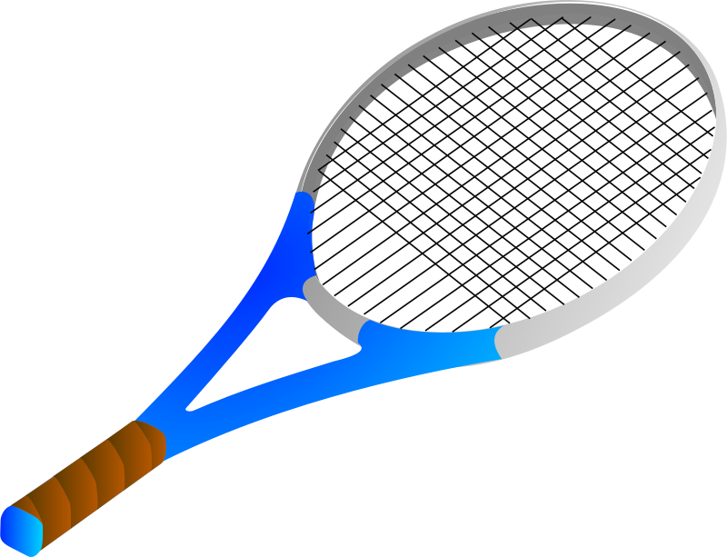 Free Clipart: Tennis racket | Anonymous