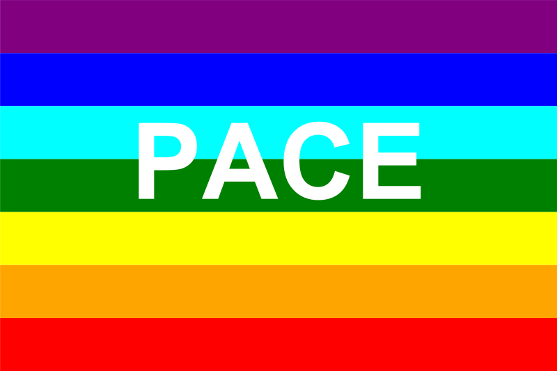 Free Clipart: Italian peace flag | Anonymous
