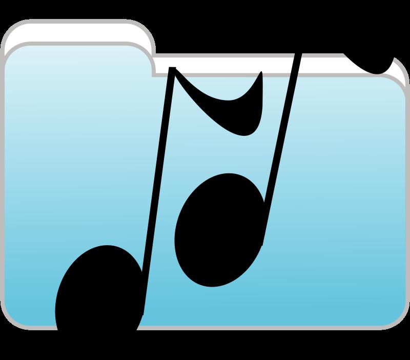 Free Music Folder Icon