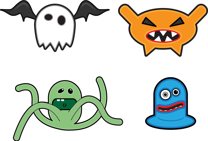 Free Cartoon monsters