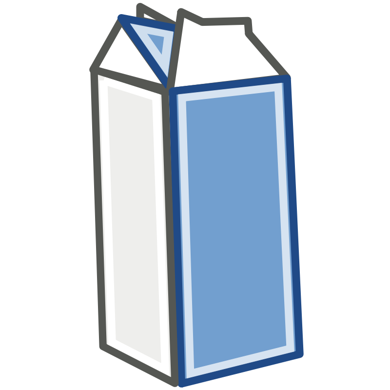 Free Tango Style Milk Carton