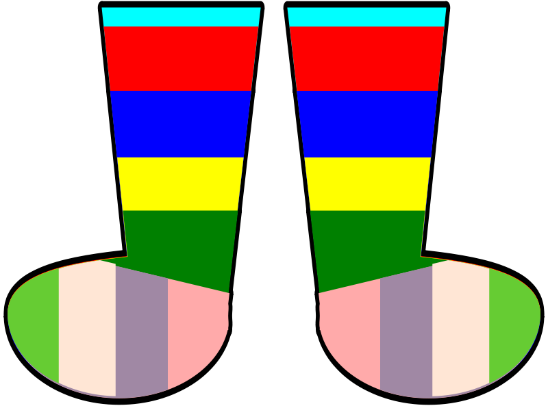Free Rainbow Socks
