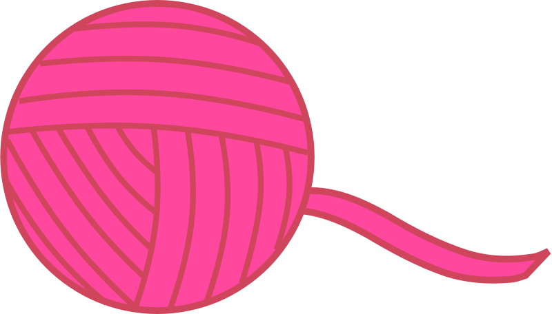 Free Pink Ball of Yarn