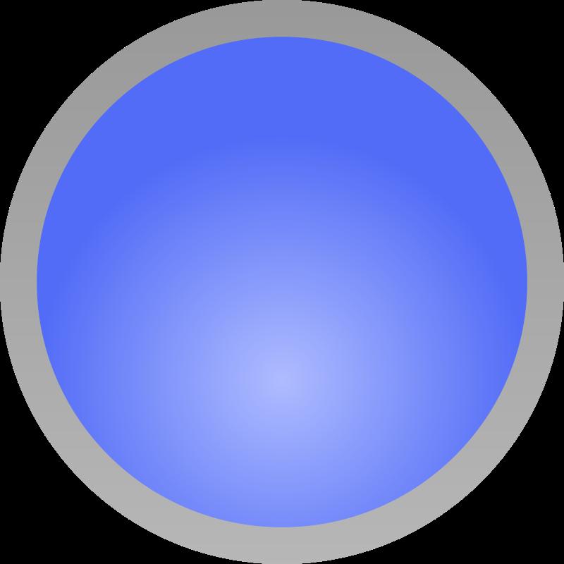 Circle blue. Free clipart shiny adam