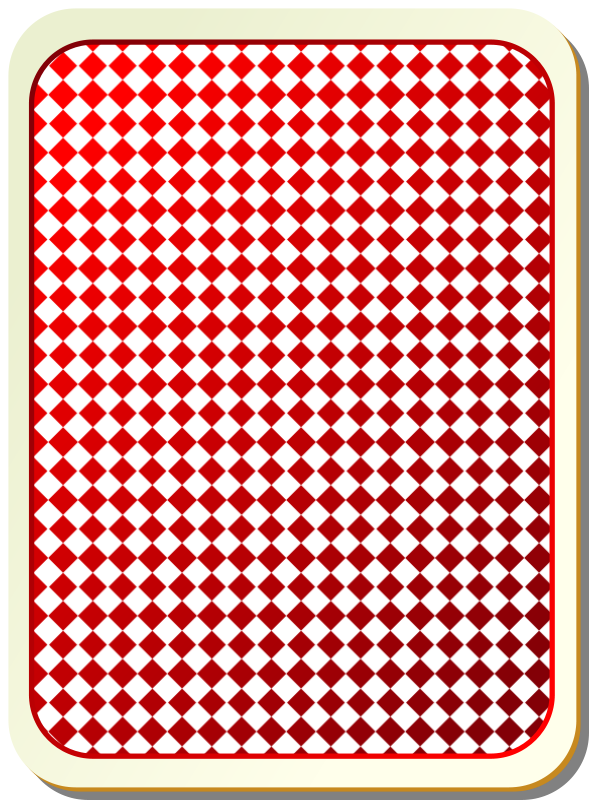 Free Card backs: grid red
