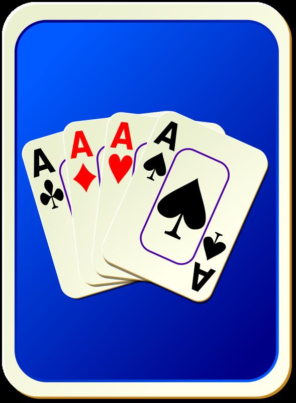 Free Card backs: cards blue