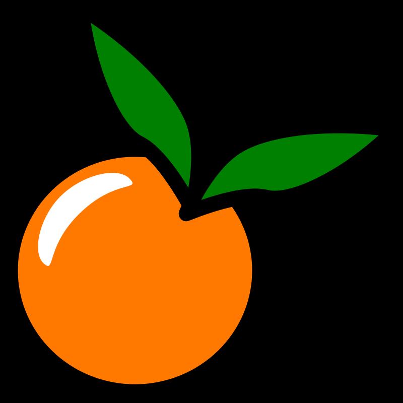 free clipart orange icon chovynz rh 1001freedownloads com orange clipart png orange clipart flower