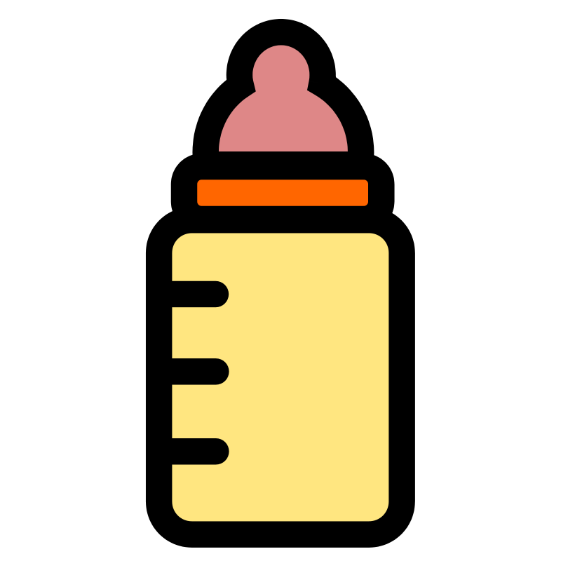 Free Clipart: Baby bottle icon | pitr
