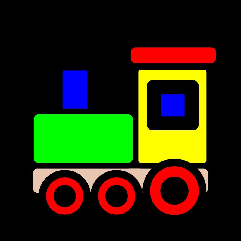 Free Toy train icon