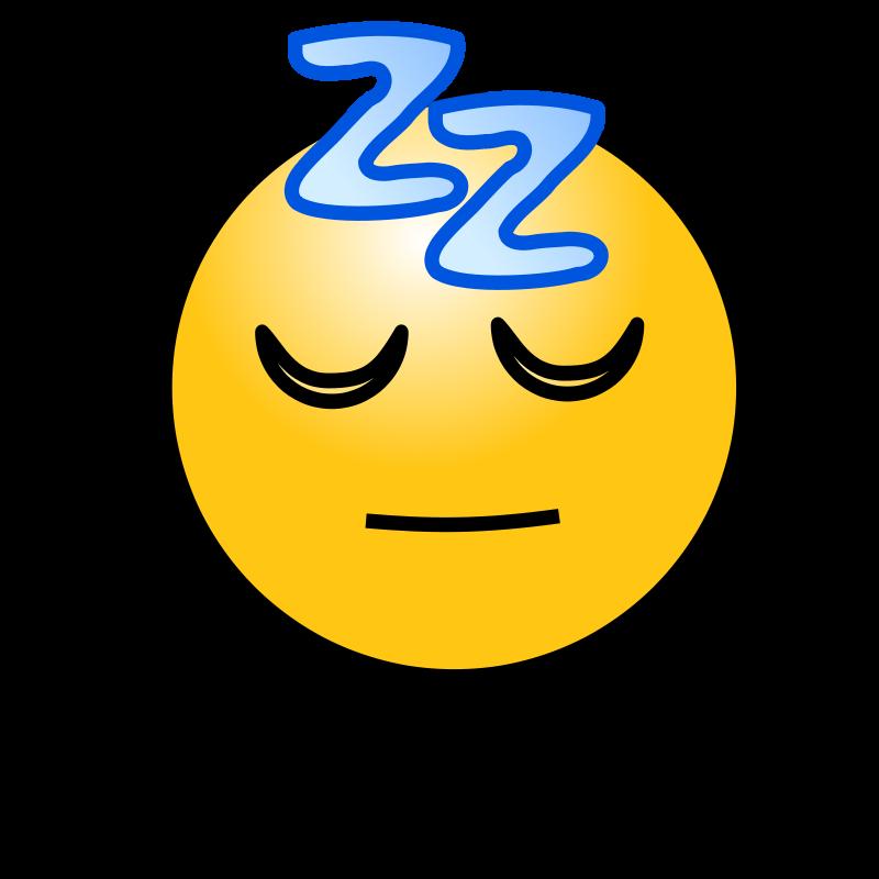 Free Emoticons: Sleeping face