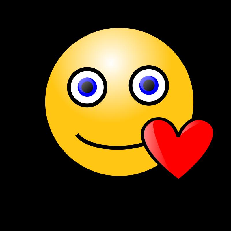 Free Emoticons: Loving face