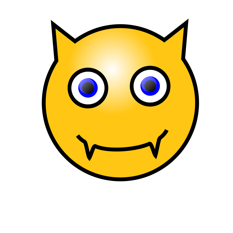 Free Emoticons: Devil face