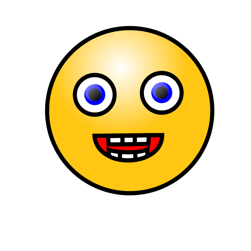 Free Emoticons: Laughing face