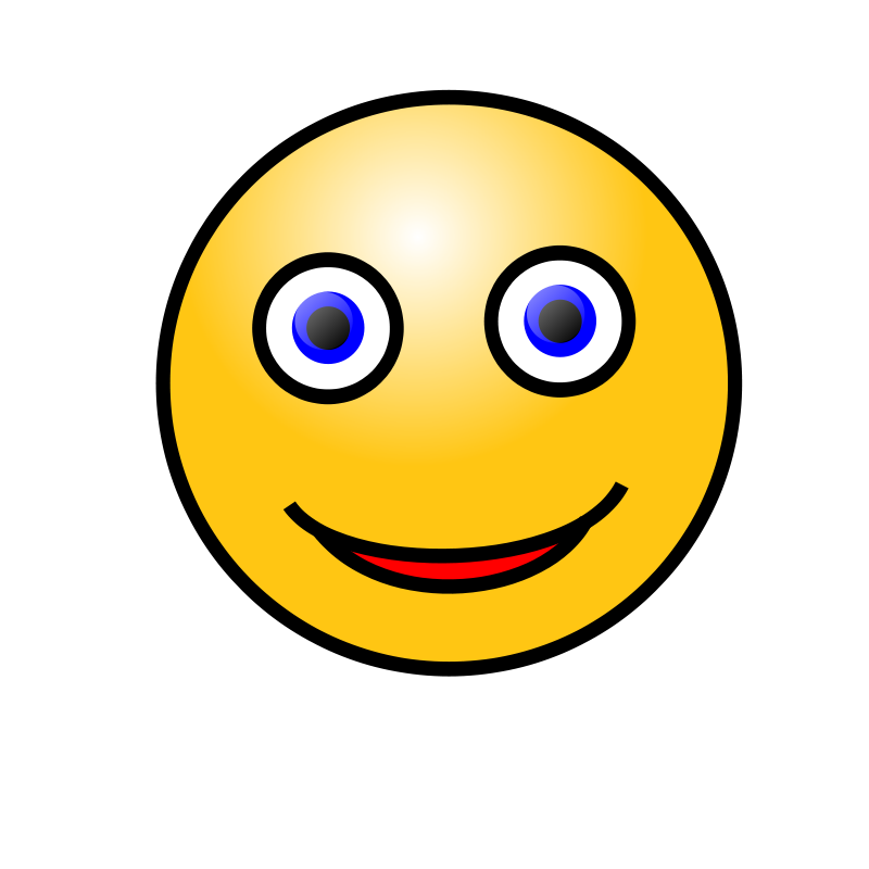 Free Emoticons: Smiling face