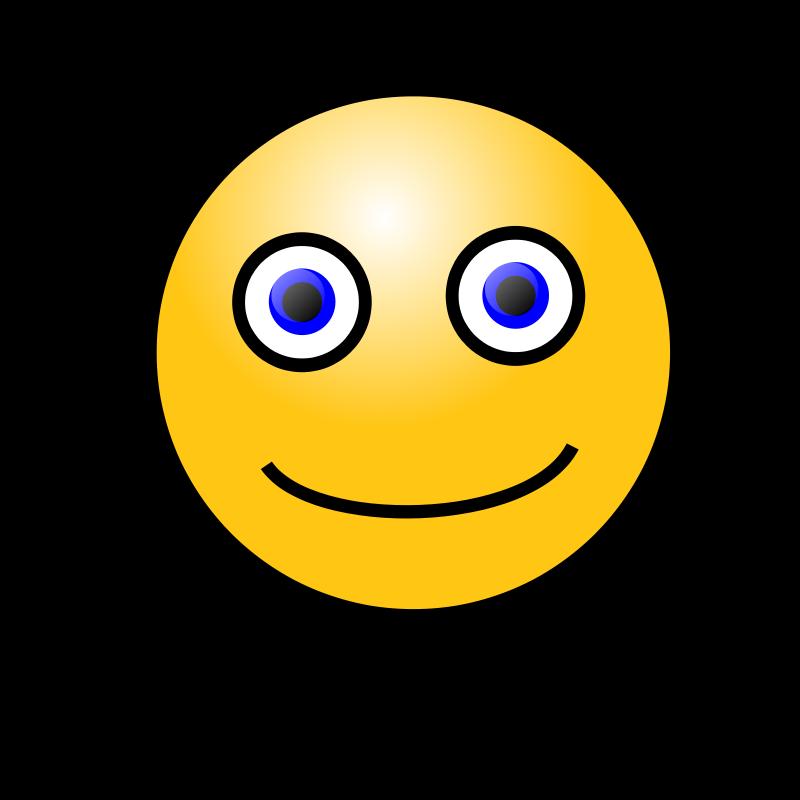 Free Clipart: Emoticons: Simple face | nicubunu