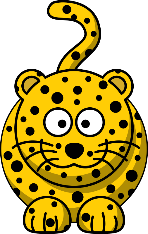 Free Cartoon leopard