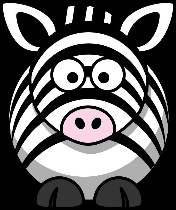 Free Cartoon zebra