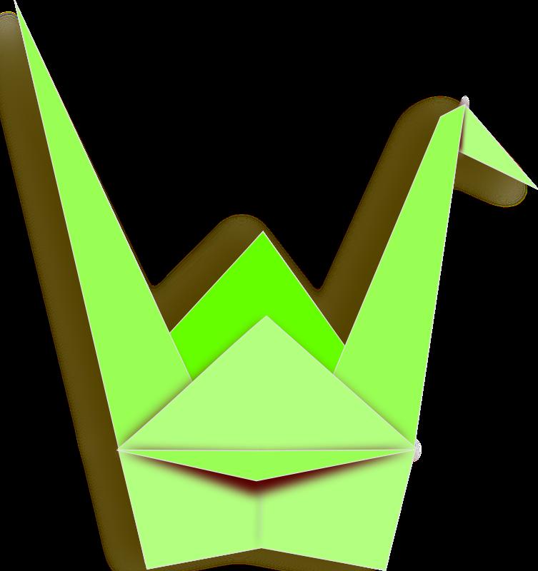 Free paper crane