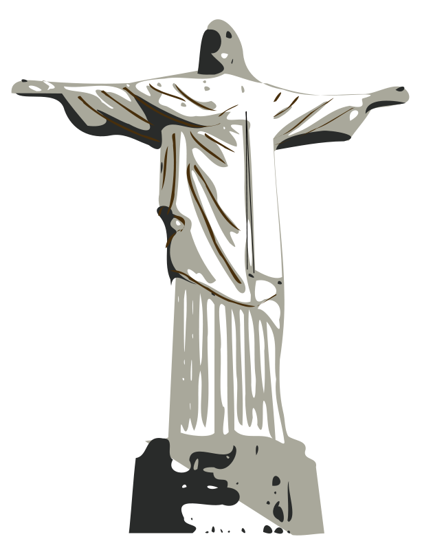 Free Clipart: Christ the Redeemer statue | laobc