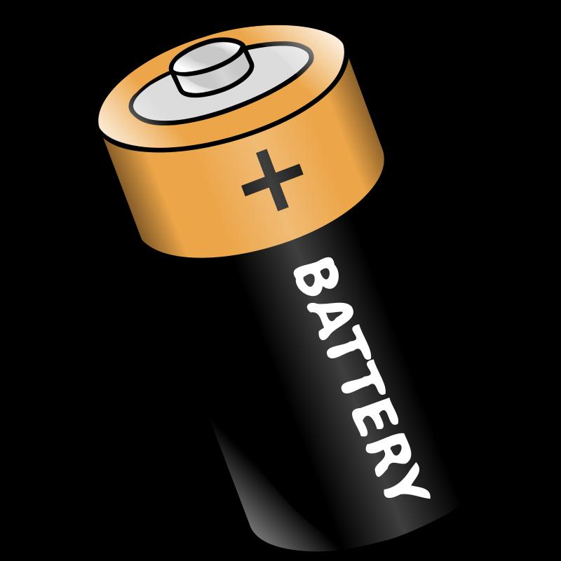 free clipart battery nicubunu rh 1001freedownloads com battery clip converter battery clips